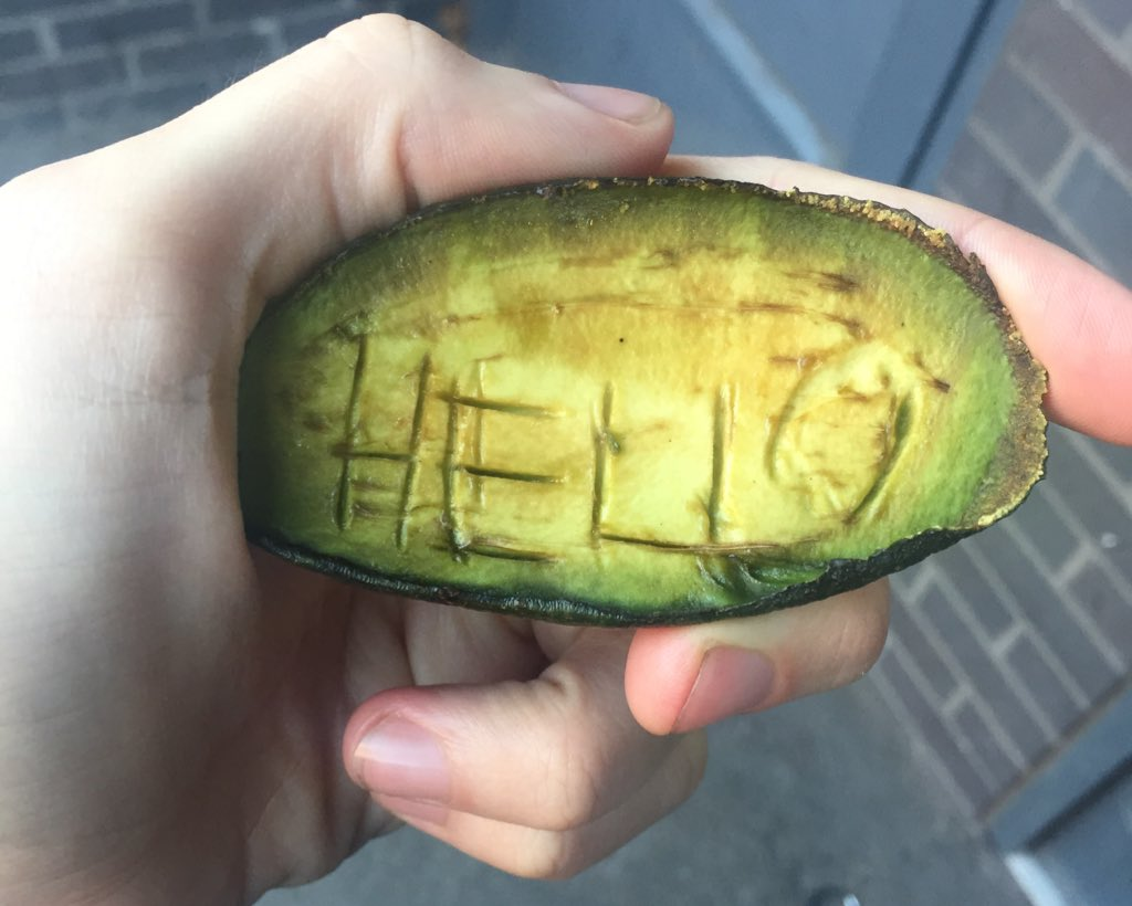 How to get an indie singer to tweet a photo of an avocado