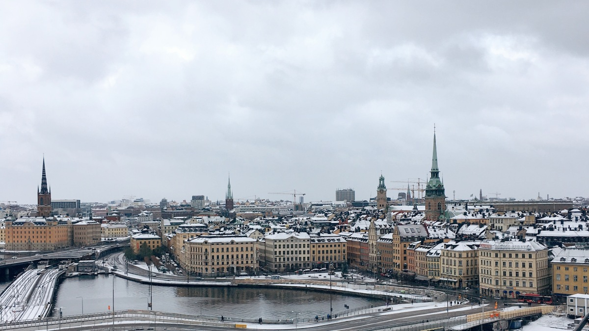 The Ersatz Elevator to Stockholm's Snowy Skyline