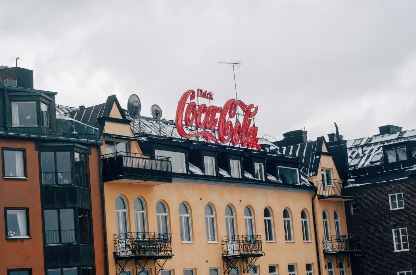 Katarina Elevator Södermalm Coca Cola