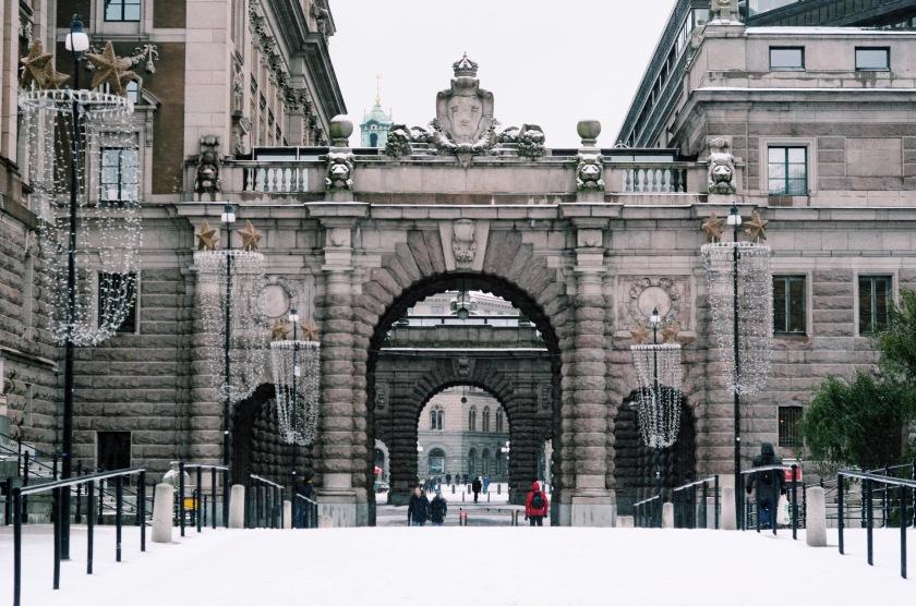 Drottninggatan Riksgatan Stockholm